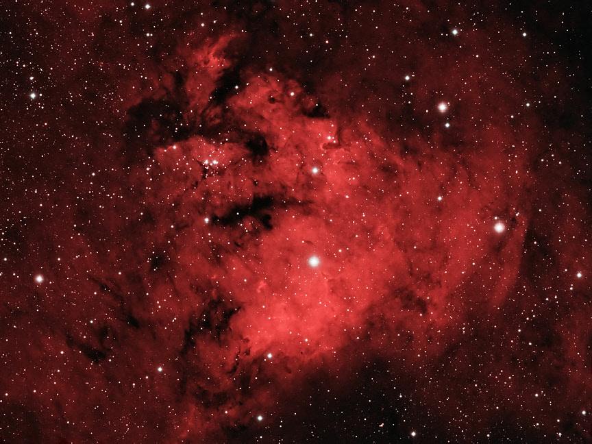 Lamb S Head Nebula Ngc7822 Wa Chur Ed Observatory